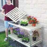 Greenhouse Staging 4ft 2 Tier Chatsworth