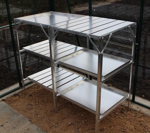 Samson Aluminium Greenhouse Staging