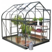 6ft Wide Sherwood Greenhouse