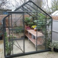 7ft Wide Severn Greenhouse