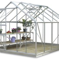 8ft Wide Sun Greenhouse