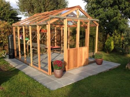 Alton Evolution Eight Cedar Timber Greenhouse 8ft Wide